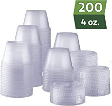 Best 4 oz plastic containers with lids Reviews