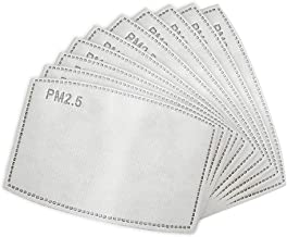 50/100 Pcs Adult Activated Carbon Filter Insert Replaceable Anti Haze Filter Paper (50PC)