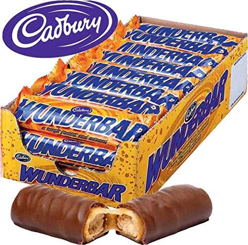 Cadbury - Buonissime tavolette di cioccolato con burro di arachidi, 24pezzi