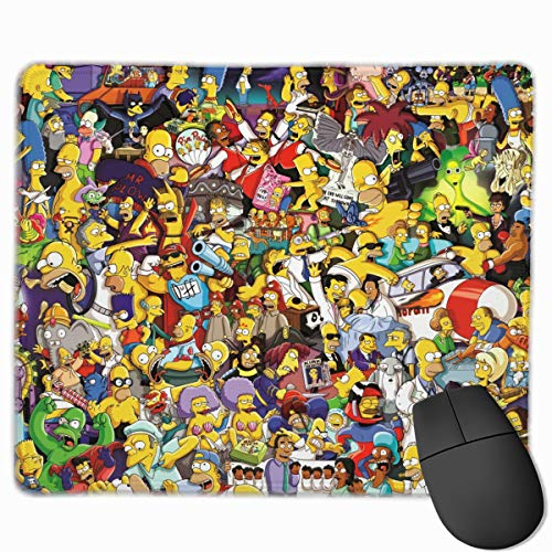 The Simpsons Rectangular Non-Slip Rubber Mouse Pad 2530