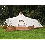 Skandika Navaho Teepee Desert Pyramid Indiana Family Group Tent, Sewn-In-Groundsheet, 2 Sleeping Pods, 5000 mm Water Column, 5 Person