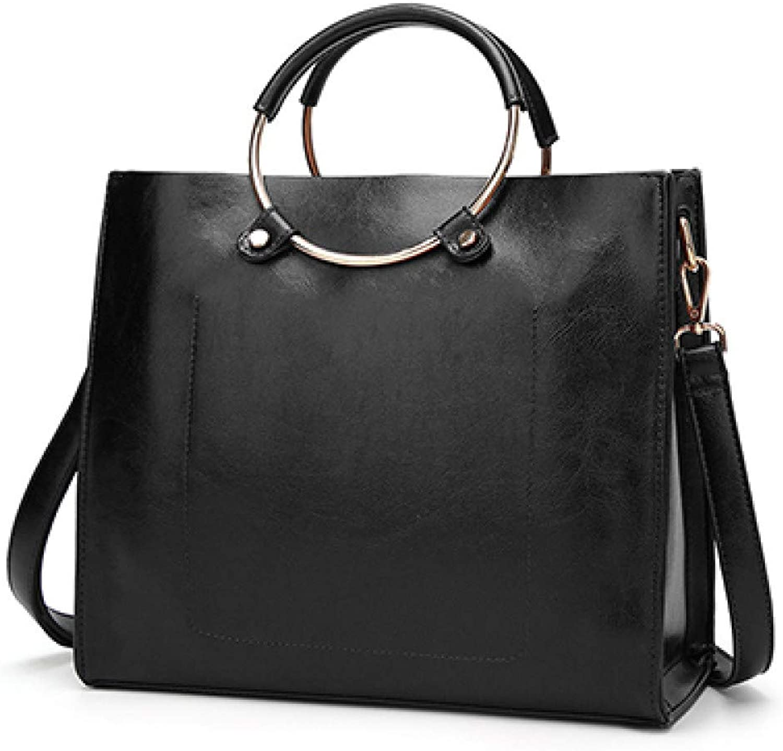 Limotai Handbag Handtasche Frauen Messenger Messenger Messenger Bag Designer Handtasche Marke PU-Schultertasche Vintage Metall Ring Klt B07KGFGT66  Moderater Preis c181ac