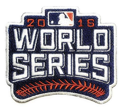Emblem Source 2016 World Series Patch Jersey EMBOSSTECH (Liquid Plastic) MLB