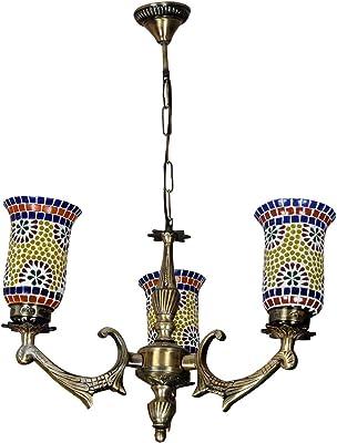 Amazon.com: Lalhaveli - Lámpara de pared para salón (cristal ...