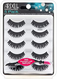 Ardell Demi Black Lashes - 101 5 Pack + Free Precision Lash Applicator
