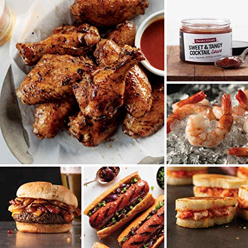 Ultimate Home-Gating Assortment from Omaha Steaks (Fully Cooked Chicken Wings, Brisket Burgers, Filet Mignon Polish Sausages, Mini Lobster Grilled Cheese, Jumbo Cooked Shrimp, and more)