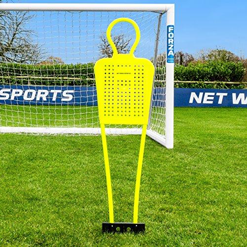 FORZA Calcio Manichini | 4ft Formazione Manichini | Disponibile in Confezione da 1 o 3 – [Net World Sports] (Confezione da 3)