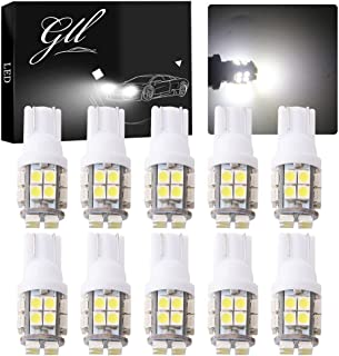 Pack of 4 TABEN White 3157 3047 3057 3057A 3155 4057 4114 1210-68SMD LED Bulbs Light 8000K Super Bright RV Turn Signal Backup Reverse Camper RV Light 12V