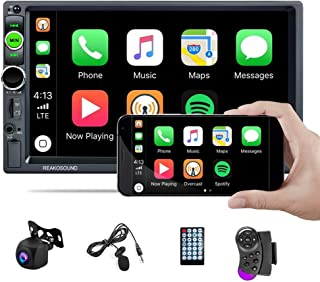 UNITOPSCI Car Stereo Double Din Car Radio with 7 Inch HD Touch Screen Bluetooth Radio Receiver Support D-Player Mirror Lin... photo