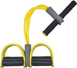 YANODA Fitness 4 Tube Resistance Bands Latex Pedaal Oefening Sit-up Trekkoord Expander Elastische Bands Yoga Uitrusting Wo...