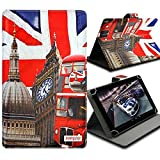 Seluxion Universal S Flip und Halterung, Motiv ZA06Für Tablet Lenovo Tab2A8–50, Tab S8, A7–50A3500