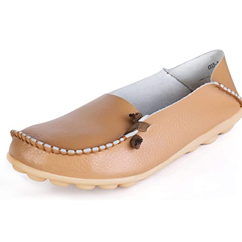 3ba2879dcc6 Labatostyle Women S Casual Leather Loafers Driving Moccasins Flats Shoes