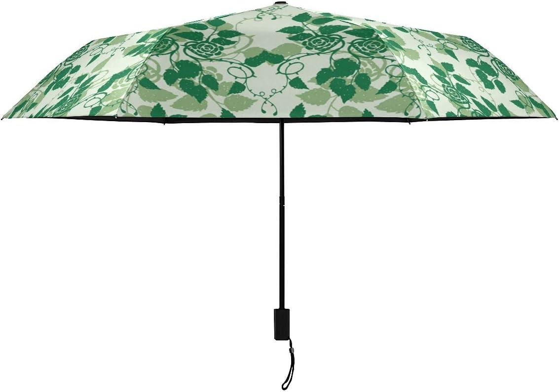 Rose Las Vegas Mall Flower Plant Parasol Compact Classic Nano G Rain Umbrella RainWind