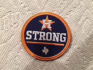 Houston Strong Jersey Patch Embroidered Patch Iron/Sew On