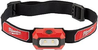 Milwaukee 2106 300 Lumen LED Headlamp Black/Red