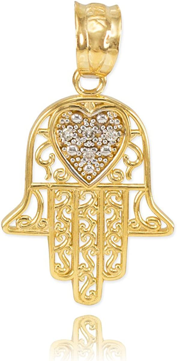 Middle Eastern Jewelry Solid 14k Selling rankings Selling rankings Diamond-Accented Gold Yellow He
