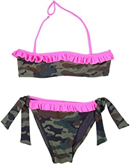 Sundek Costume da Bagno Due Pezzi Bikini Bambina Mini Madeline