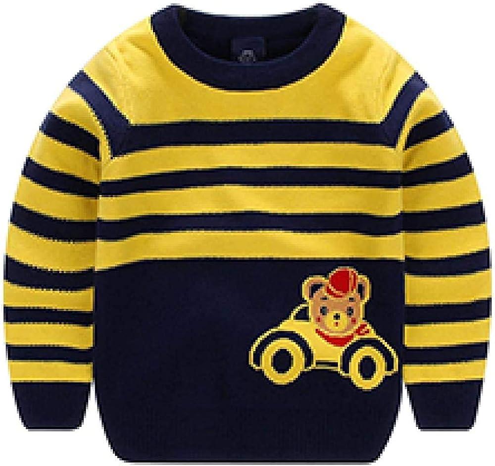 Spring Autumn Baby Knitwear Boys Sweater Kids Warm Tops Children Clothes Cartoon Bear