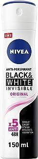Nivea Invisible Black & White Deodorant Spray for Women 150ml