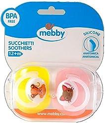 Mebby 90661 Portasucchietto per Due Succhietti