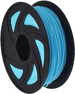 3D Printer Filament - 1KG (2.20 lbs) The Diameter of 1.75mm, Dimensional Accuracy PLA Multiple Color, Sky Blue