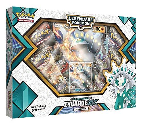 Pokémon PKM Shiny Zygarde GX Box