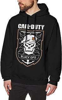 Call of Duty Black Ops 4 Mens Long Sleeve Sweatshirts Men Hoodies Black