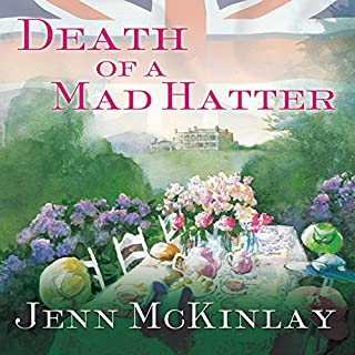 Death of a Mad Hatter audiobook cover art