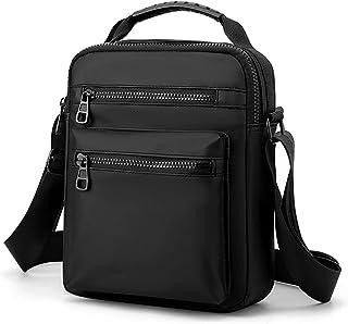 Sling Pouch, Tidrop Men Sling Bag Single Shoulder Bag Crossbody Bag Wear-Resistant Oxford Bag Adjustable Strap Shoulder Bag
