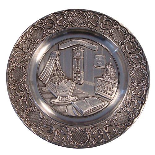 Artina 13643 Teller Geburt mit Gravur Geburtenteller Wandteller Zinnteller