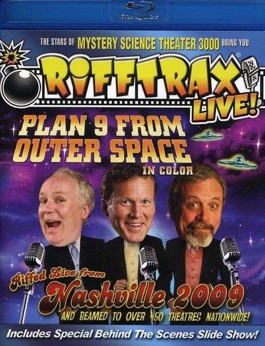 Rifftrax Live: Plan 9 From Outer Space [Edizione: Stati Uniti] [Reino Unido] [Blu-ray]