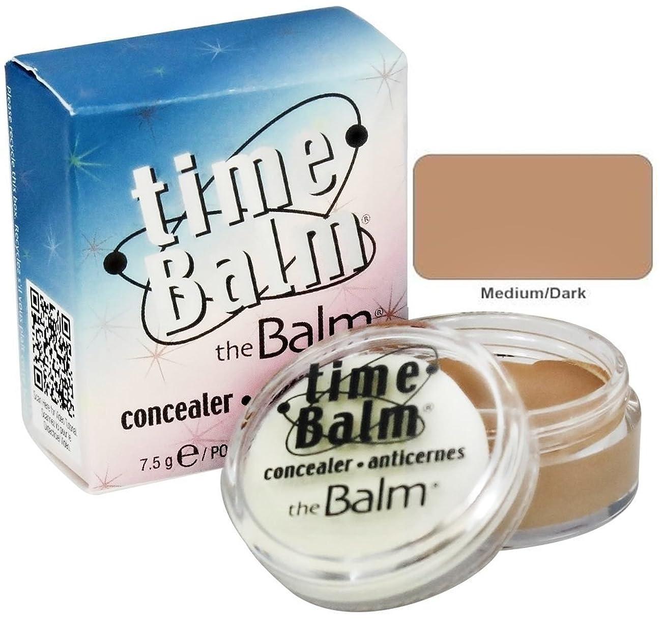 ブラウズ永遠に可能Thebalm Timebalm Anti-Wrinkle Concealer - Medium (並行輸入品)