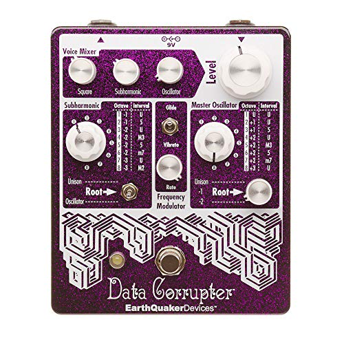 Earthquaker Devices Data Corrupter PLL Harmonizing Limited Edition Purple Sparkle