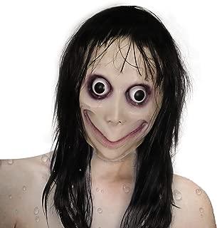Creepy Mask Latex Mask Cosplay Scary Mask for Halloween Costume