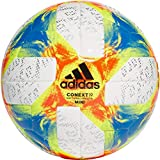 adidas Herren Conext 19 Miniball, Top:White/Solar Yellow/Solar Red/Football Blue Bottom:Silver Metallic/Black, 1