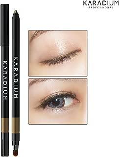 [KARADIUM] Wonderful Eyes Auto Gel Eyeliner 0.5g / Gel Liner & Sharpner & Blending Brush/Waterproof Long-Lasting - 8 Colors (#4 shimmer copper)