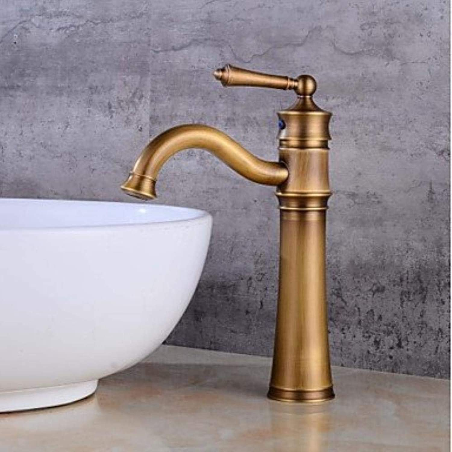 XSRKHome?Centerset Clawfoot withCeramic Valve Single Handle One Hole forAntique Copper, Bathroom Sink Faucet