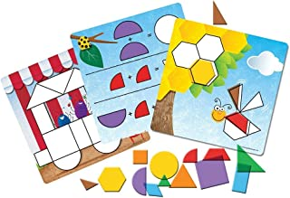 Learning Resources Shapes - Don't Bug Me - Geometry Activity Set, 136 Pieces, Ages 5+