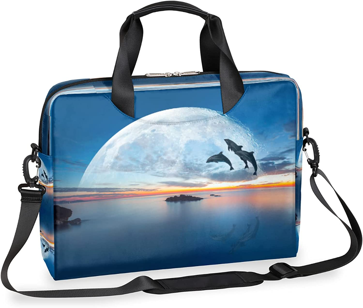 Laptop Bag for Women Men Crossbody NEW OFFicial mail order before selling ☆ Compute Dolphin Jump Business
