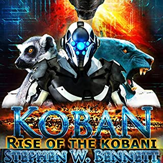 Koban: Rise of the Kobani audiobook cover art