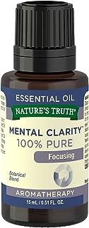 Nature's Truth Essential Oil, Mental Clarity, 0.51 Fluid Ounce