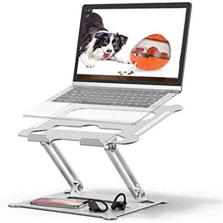 Adjustable Laptop Stand,Suturun Portable Laptop Computer Stand Rriser&Multi-Angle Stand with Heat-Vent to Elevate Laptop Holder for Mac,Notebook,Lenovo More10-17 Laptop