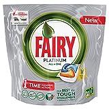 Fairy Platinum Arancia Caps per Lavastoviglie Confezione da 16