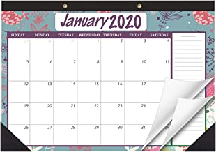 STOBOK Desk Calendar,Desk Planner 2020 - 2021 Wall Hanging Yearly Monthly Planner ,Large Page 17