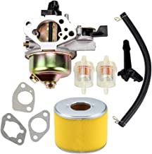 Kuupo Carburetor + Air Filter Fuel Line Carb for GX390 Tune-Up Kit 13HP 13 HP Replaces 16100-ZF6-V01 Parts Set Engine Motor Generator Pressure Washer