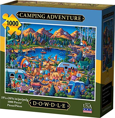 Dowdle Jigsaw Puzzle - Camping Adventure - 1000 Piece
