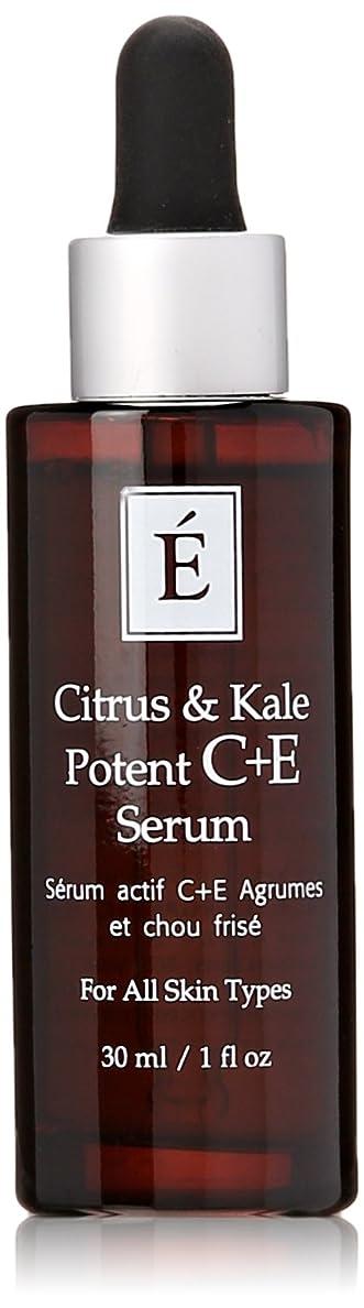 限界消化目を覚ますエミネンスシトラス&ケール強力なC + Eセラム1オンスフレッシュ   Eminence Citrus & Kale Potent C + E Serum 1 oz Fresh