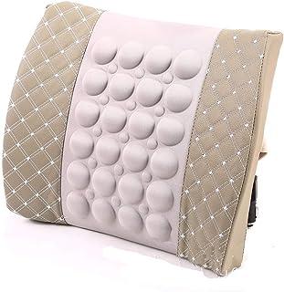 Lumbar Back Support Cushion - Orthopedic Design Great for Back Pain Relief - Ergonomic Memory Foam Back Massage Lumbar Pil...
