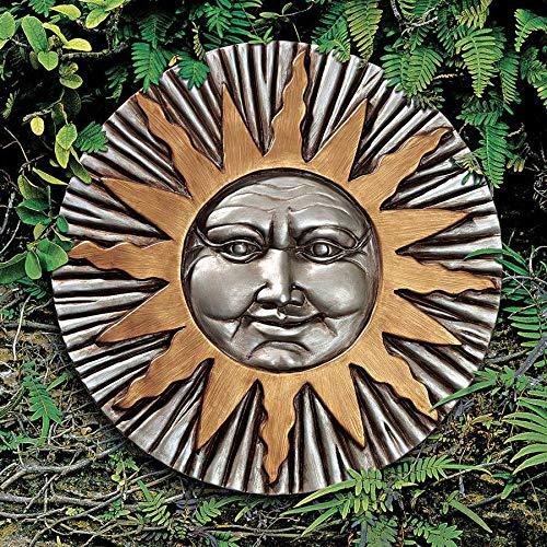 Design Toscano Rising Summer Sun Wall Sculpture