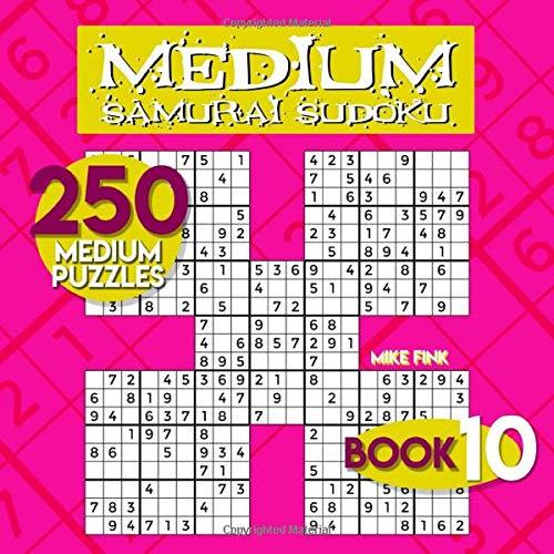 Medium Samurai Sudoku (250 Sudoku Samurai)